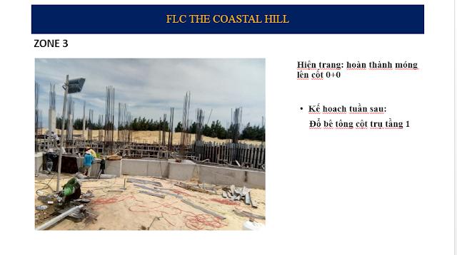 Tiến độ tòa Zone 3 The Coastal Hill