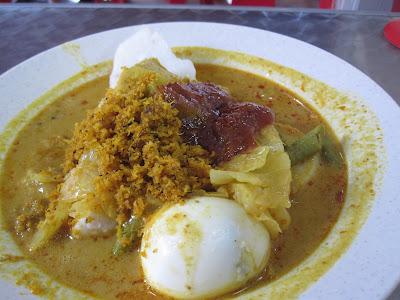 Kampong Glam Cafe, lontong