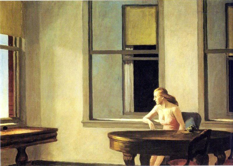 Luz Solar na Cidade - Edward Hopper e suas principais pinturas ~ O pintor da solidão