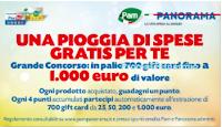 Logo '' Una pioggia di spese gratis per te'': vinci 708 buoni spesa da 25€ e fino a 1.000€