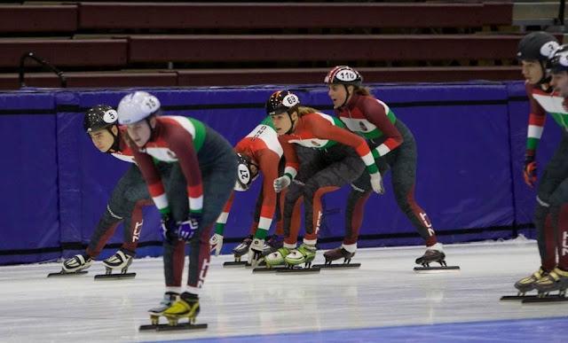 Tegnap Salt Lake Cityben már javában zajlottak az edzések. Csatoltan küldünk néhány képet szíves felhasználásra. A mai előfutamok a szokott weblapon élőben követhetők (http://shorttrack.sportresult.com).