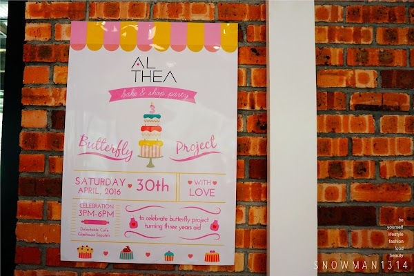 The Butterfly Project 3rd Birthday Bash with Althea Korea @ Delectable by Su