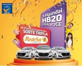 Cadastrar Promoção Rede Sol Supermercados 2018 Aniversário Sorte Tripla