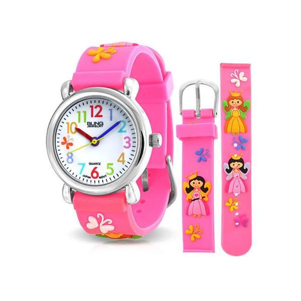 Jam tangan analog untuk anak perempuan