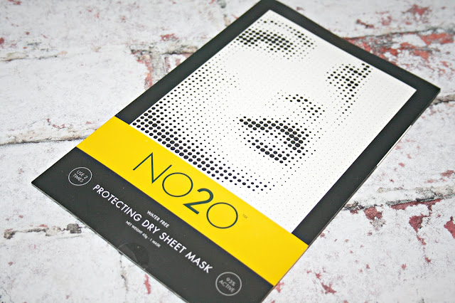 NO2O Protecting Dry Sheet Treatment Masks