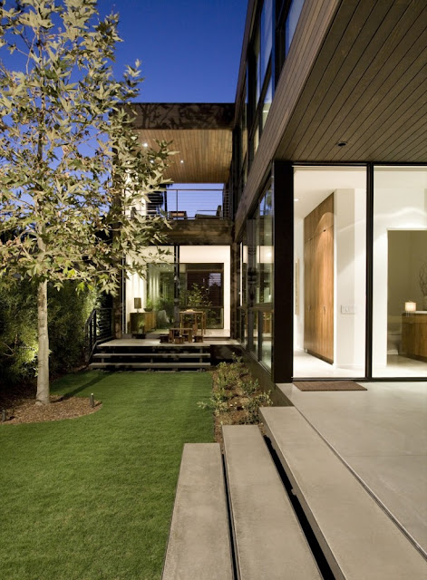 Prefab home, California