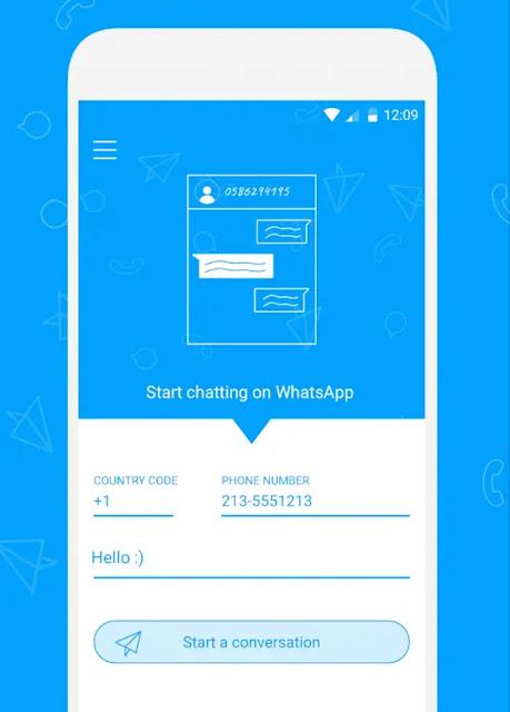 Cara cepat kirim pesan Whatsapp tanpa simpan nomor tujuan3