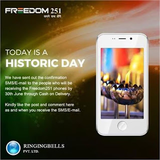 freedom 251 cash on delivery