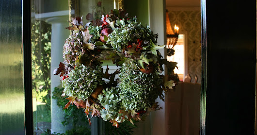 Wreaths Symbolize Welcome And Unity