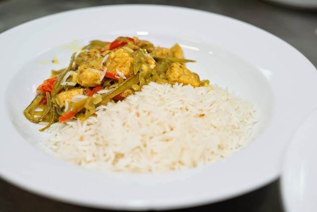 Underground Cookery School - Quorn Thai Curry