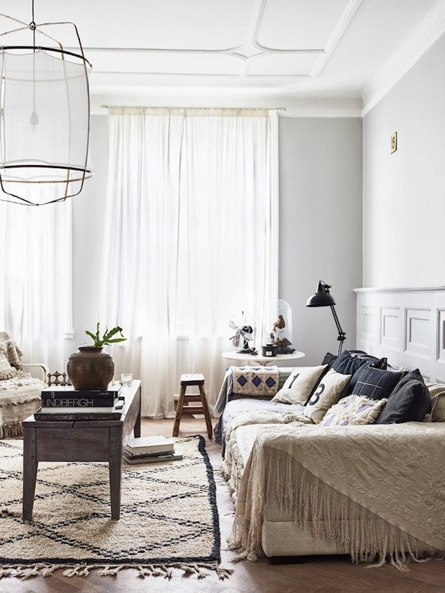 my scandinavian home a swedish pad with a mix of boho vintage and modern. Black Bedroom Furniture Sets. Home Design Ideas
