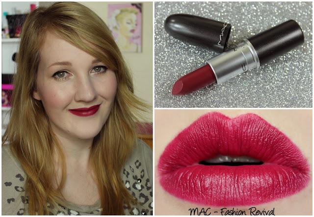 MAC Fashion Revival lipstick swatch