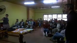 DPF: Los Técnicos Regionales se reunen con productores de San Pedro