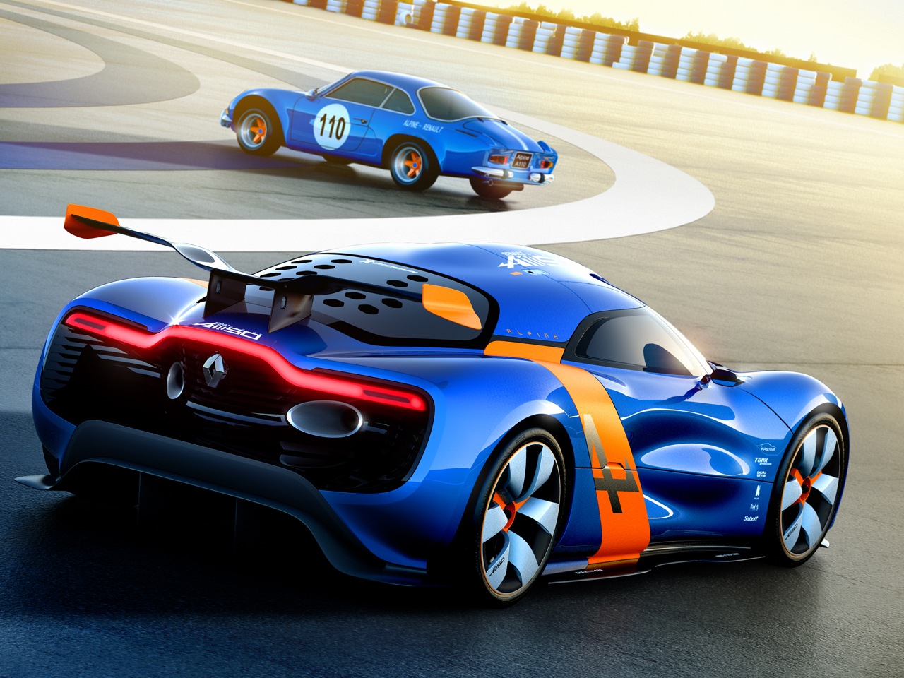 Sports Cars 2015 Renault Alpine A110 50 Supercar