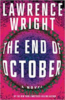 The End of October by Lawrence Wright (Book cover)
