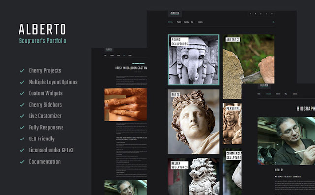 Sculpture WordPress Theme