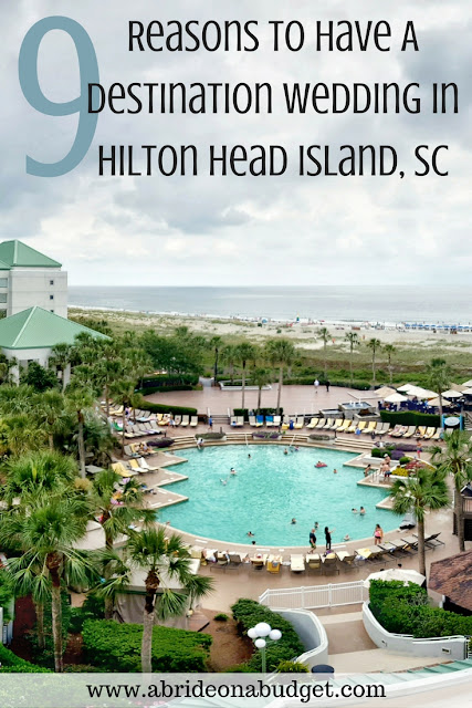#ad If you're planning your destination wedding, check out Hilton Head Island. Find out why in this 9 Reasons To Have A Destination Wedding In Hilton Head Island, SC from www.abrideonabudget.com. #grandoceanterrace #westinhhi