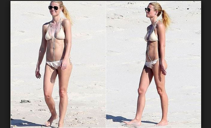 Gwyneth Paltrow en Playa Mexicana