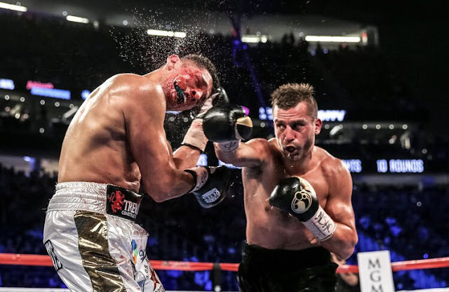 "David Lemieux KOs Gary ""Spike"" O'Sullivan (28-2, 20 KOs) I'm The First Round"