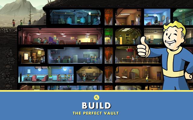 تحميل لعبة الاستراتيجية الرائعة Fallout Shelter للاندرويد بالمجان