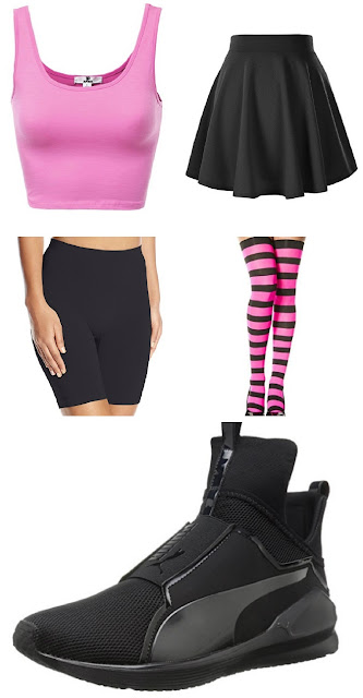 what to wear to a rave edm outfits rave outfits skater skirt outfit puma cross trainers summer outfits tumblr outfits