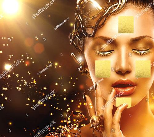 นะหน้าทอง พิธีลงทองบนใบหน้าเพื่อเสริมเสน่ห์ เมตตามหานิยม