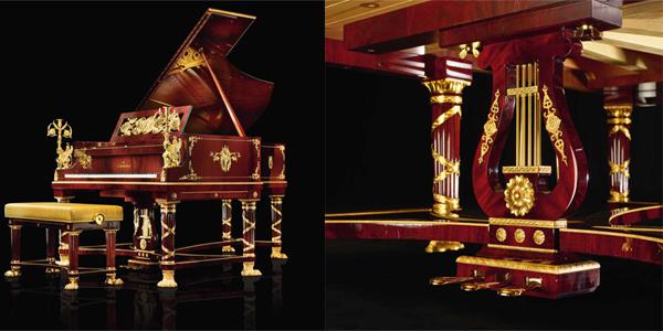 gia đàn piano C. Bechstein Sphinx