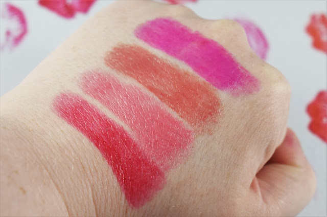 YSL Rouge Volupte Shine Swatches
