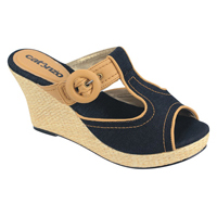 Sandal Wedges Casual Wanita CATENZO AY 564
