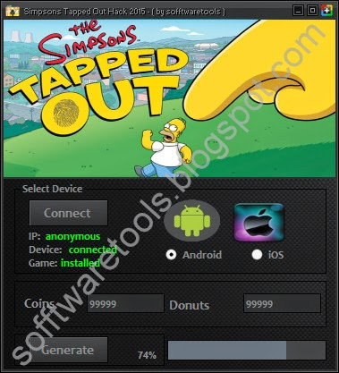 cheat simpsons tapped out android apk