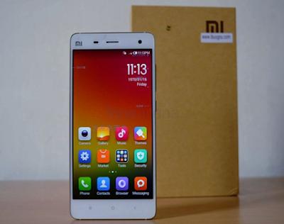 So sánh Smartphone xiaomi mi4 với xiaomi redmi note 3
