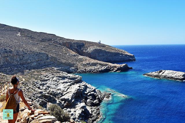 Livadaki, isla de Folegandros (Grecia)