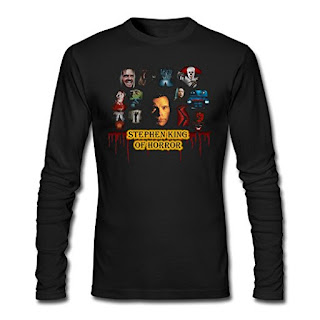 Stephen King Shirt, Stephen King of Horror, Stephen King Store