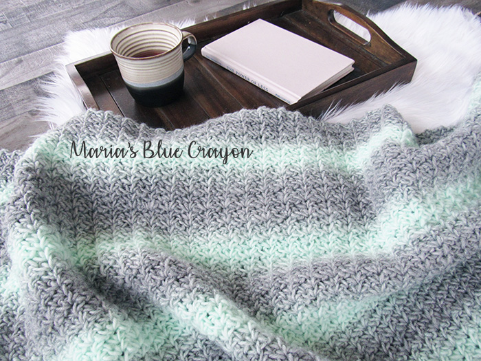 Mint To Be Crochet Afghan Free Pattern Marias Blue Crayon