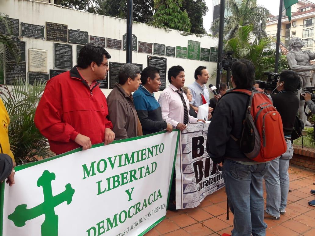 La primera reunión de los jóvenes activistas  se dio el fin de semana en Santa Cruz /  FACEBOOK
