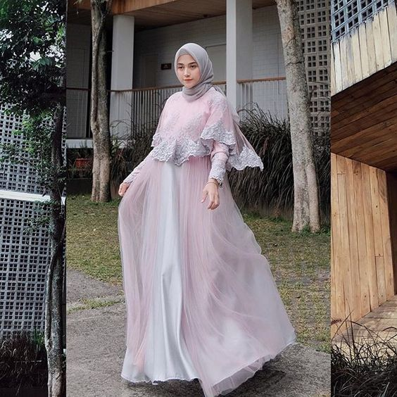 Inspirasi Baju Muslim Lebaran 2019