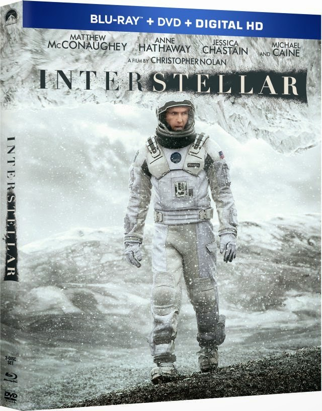 Interstellar Bluray Cover Caratula Descargar