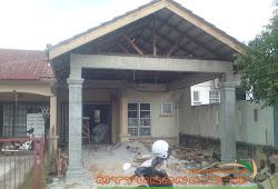 Renovation Rumah Teres Setingkat