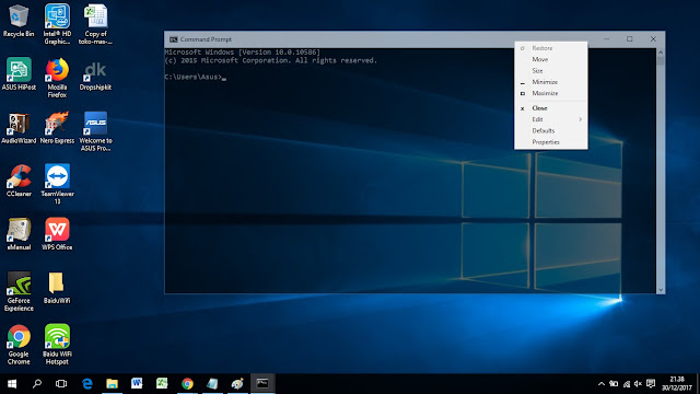 Cara Membuat Command Prompt jadi Transparan Keren | Merubah Warna Background CMD