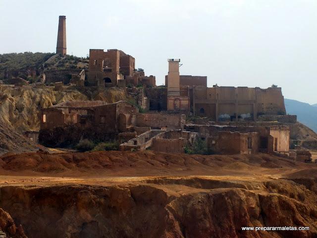 Visita a las minas de Mazarrón