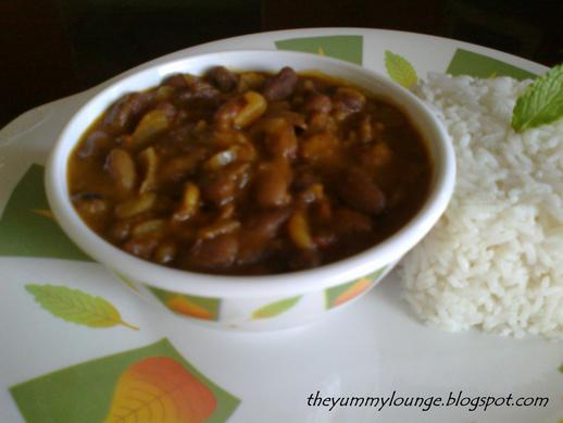 how to make north Indian restaurant style punjabi rajma recipe