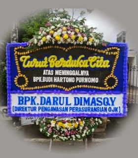 Jual Bunga Duka Cita di Jakarta Timur