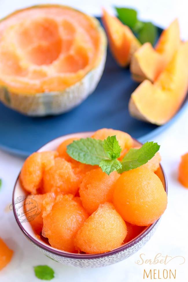 comment faire une glace melon