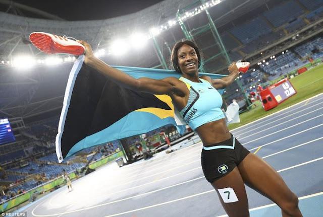 El sorprendente clavado de Shaunae Miller para ganar el oro
