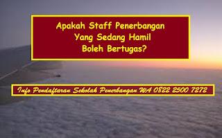 Apakah Staff Penerbangan Yang Sedang Hamil Boleh Bertugas?