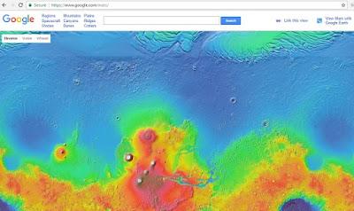 Google Mars