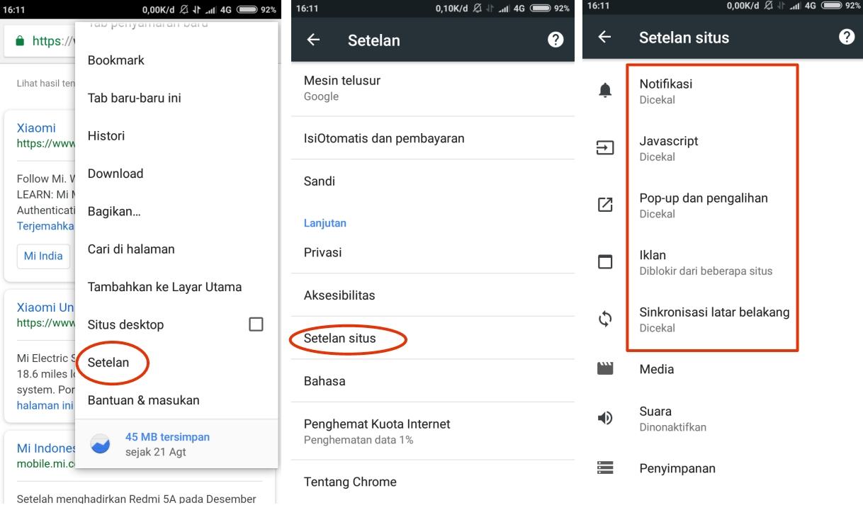 Cara Menghilangkan Iklan Yang Tiba Tiba Muncul Di Hp Android Iklan Pop Up Dll