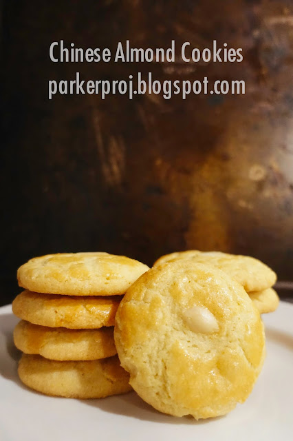 chinese almond cookies, cookies, cookie recipe, chinese new year