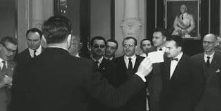 O'Kelly y Miquel Farré en el I Torneo Internacional de Ajedrez Costa del Sol 1961