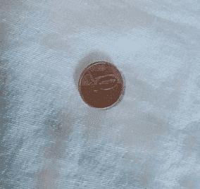 delineado usando moeda